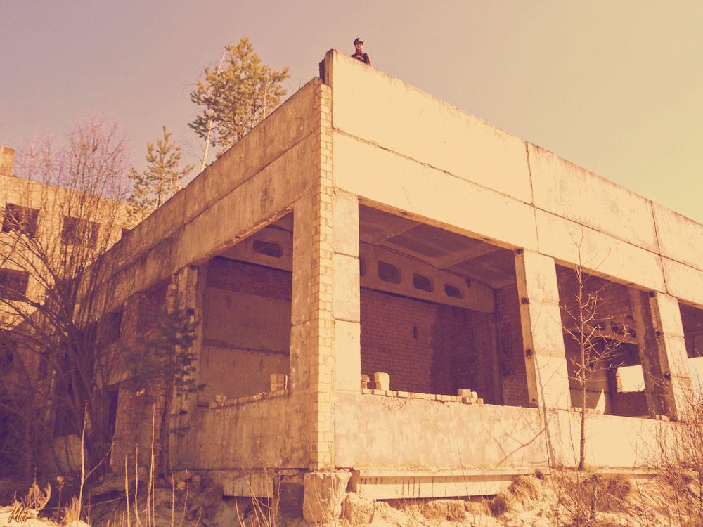 Недостроенный асфальтный завод