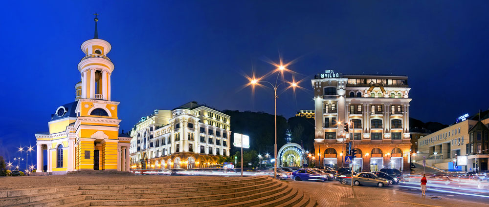 Панорама площади