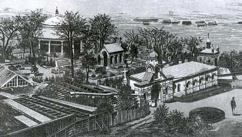 Церковь в середине 18-го века