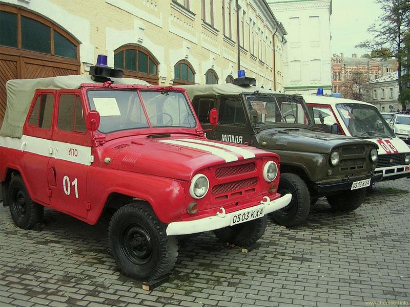 Транспорт ликвидаторов аварии