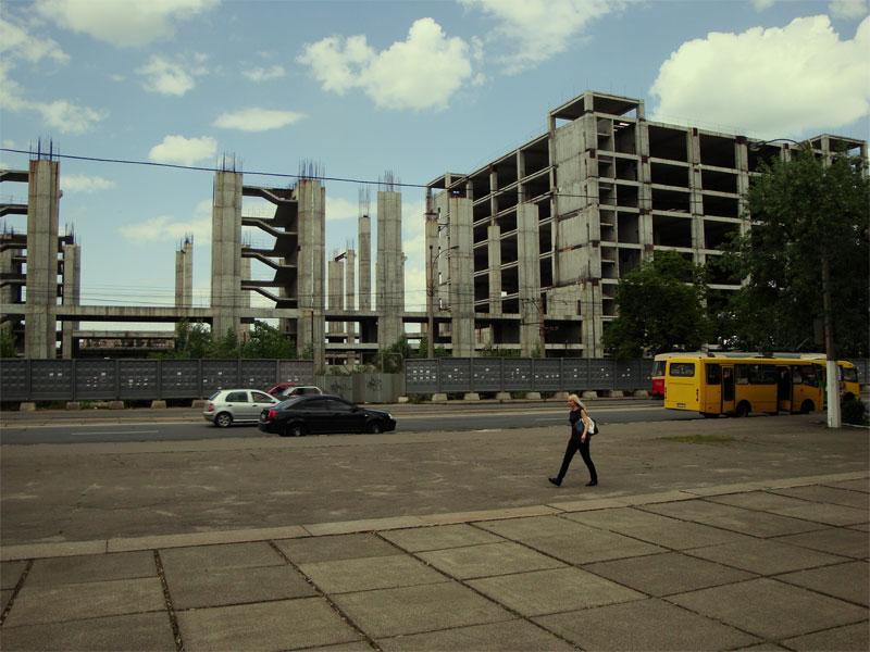 Вид из Привокзального парка