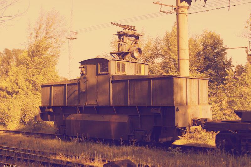 Тяговой поезд Дарницкой ТЭЦ