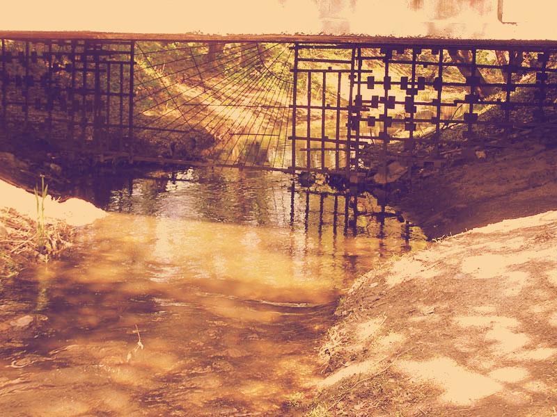Река Дарница возле ТЭЦ
