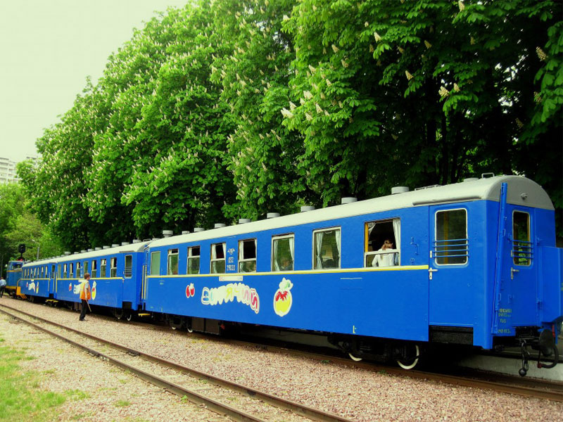 Вагоны детской железной дороги