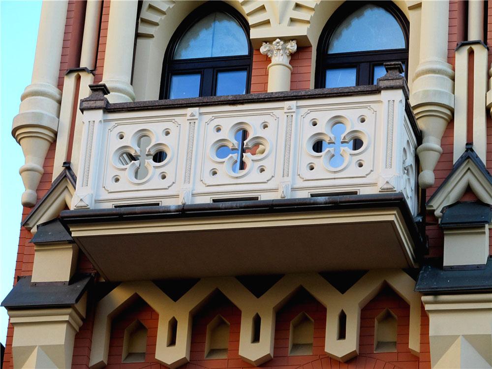 Невероятной красоты балкон