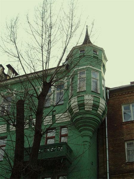 Крытый балкон