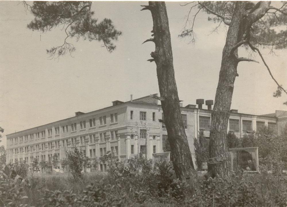 Корпус красильного отделения, 1950-е.