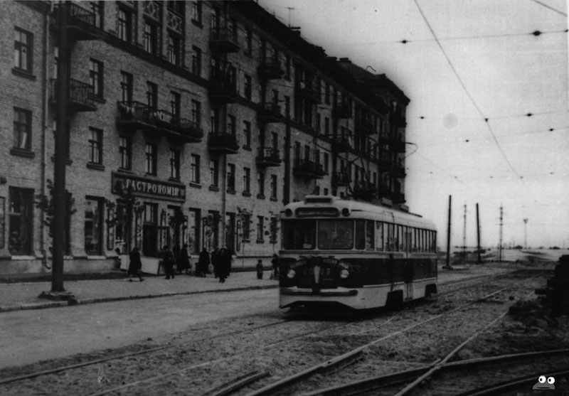 Первый трамвай до войны