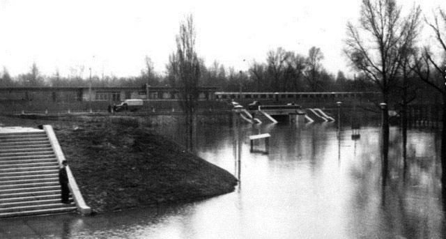 Наводнение в Гидропарке 1970 года