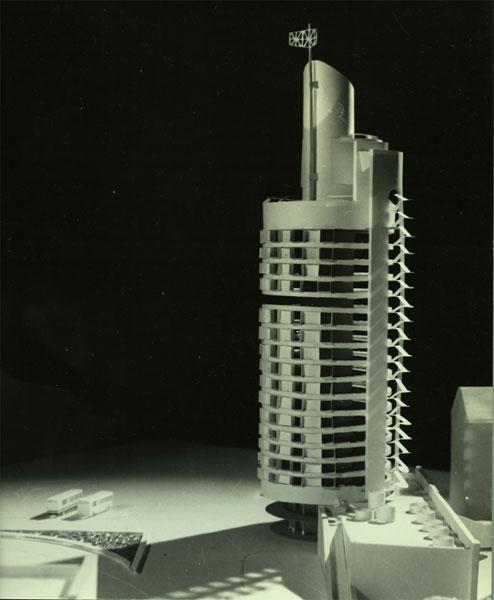 Проект 18-этажной гостиницы