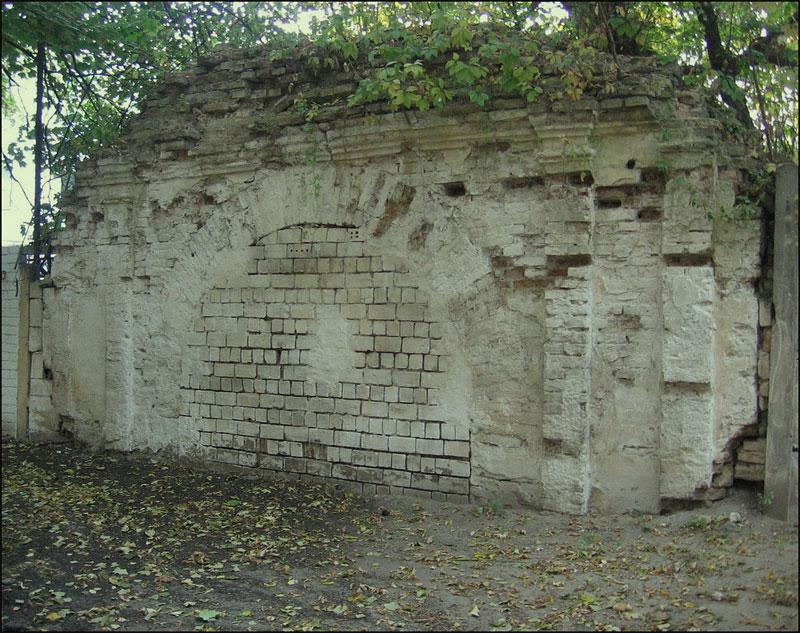 Васильковские ворота равелинные