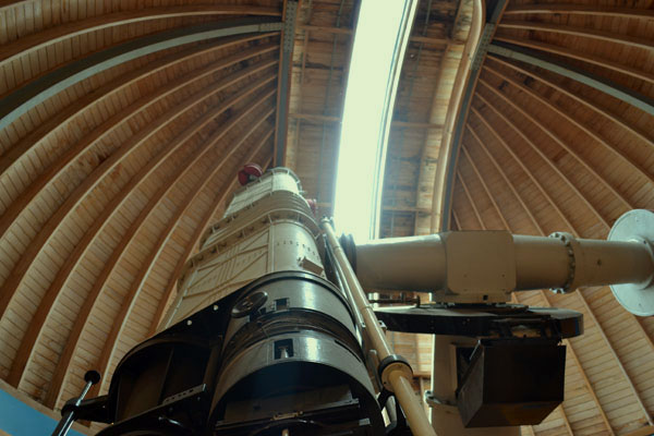 Телескоп и небо - чудесное зрелище