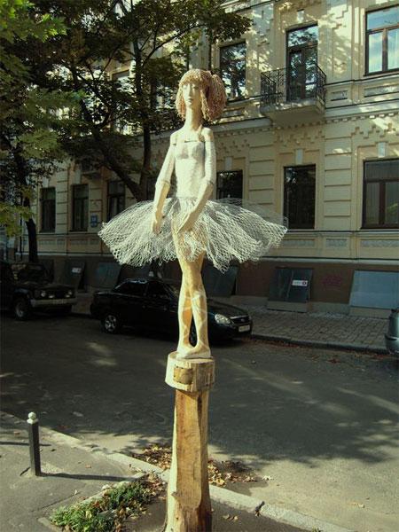 Общий вид скульптуры