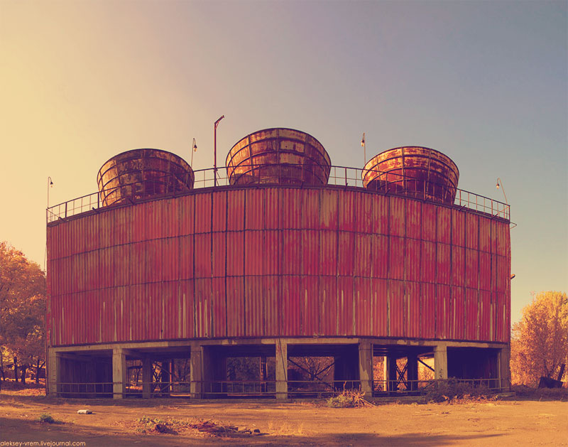 Градирни для реактора