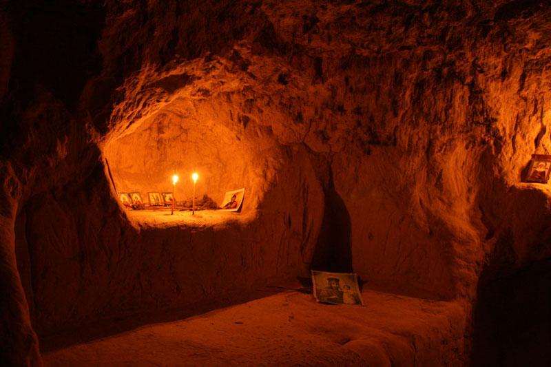 Пещеры монастыря