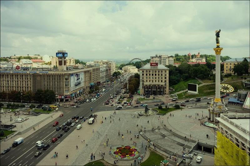 Вид в сторону Европейской площади