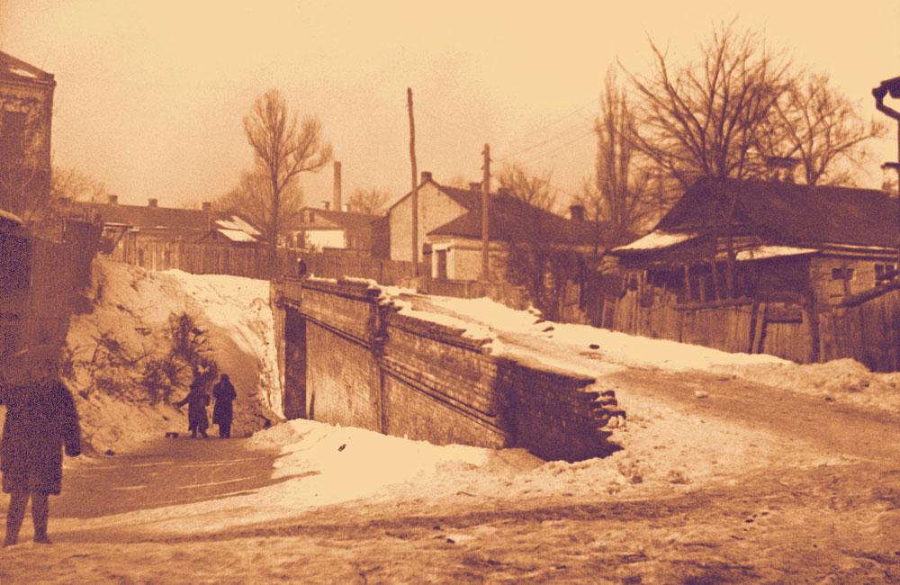 Кудрявский мост в 1930-х годах
