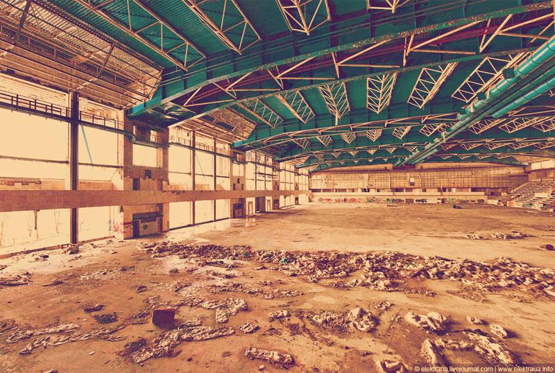 Общий вид арены
