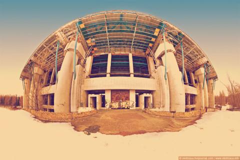Панорамный вид стадиона