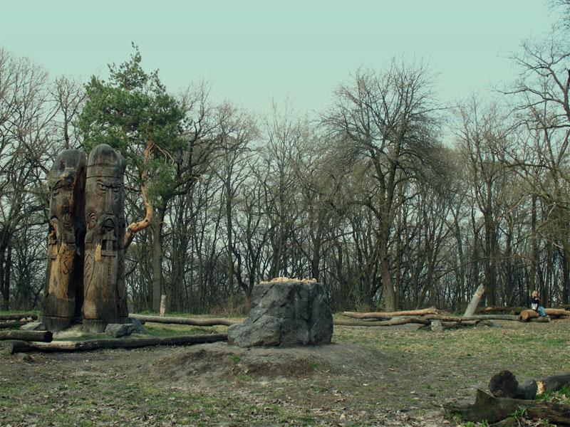 Капище и идолы на Лысой горе