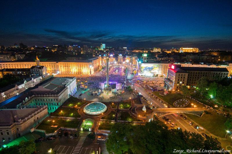 Общий вид Майдана