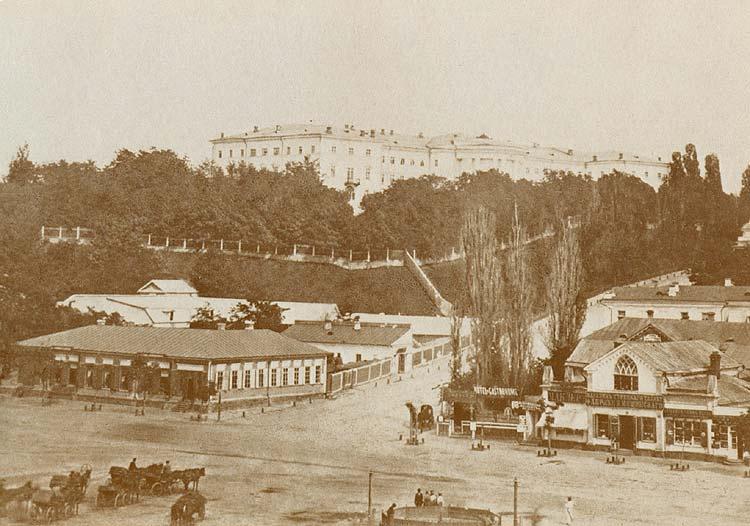 Майдан в конце 18-го века