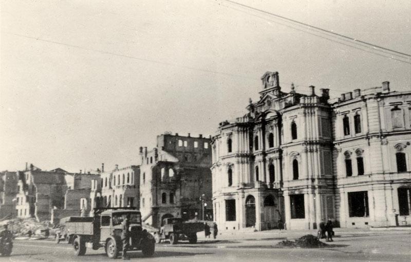 Майдан после войны