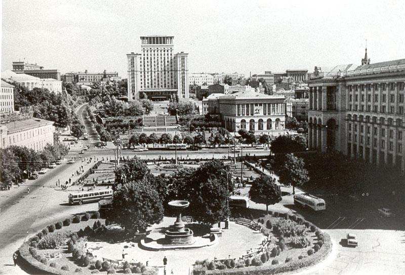Майдан в 1970 году
