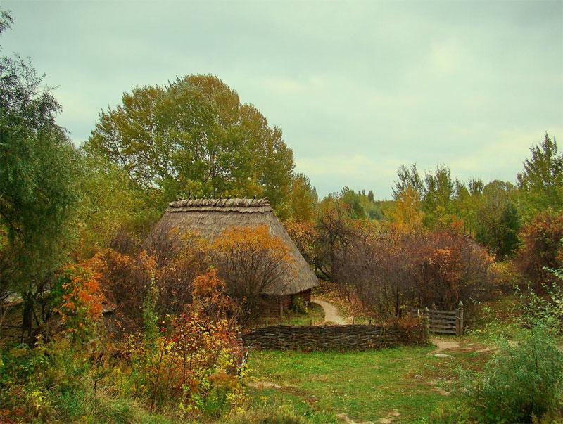 Осень в Слободе