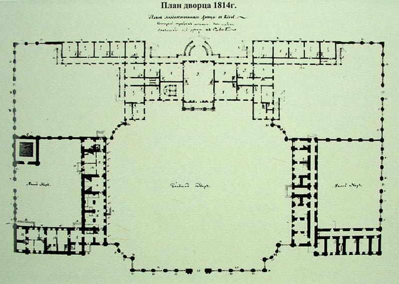 План здания за 1814 год
