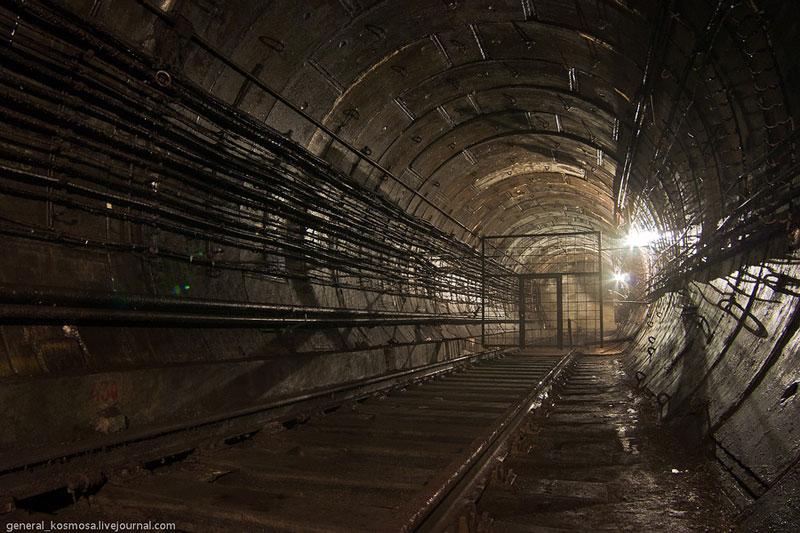 Заброшенный тоннель
