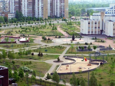 Парки Киева: парк Молодежный