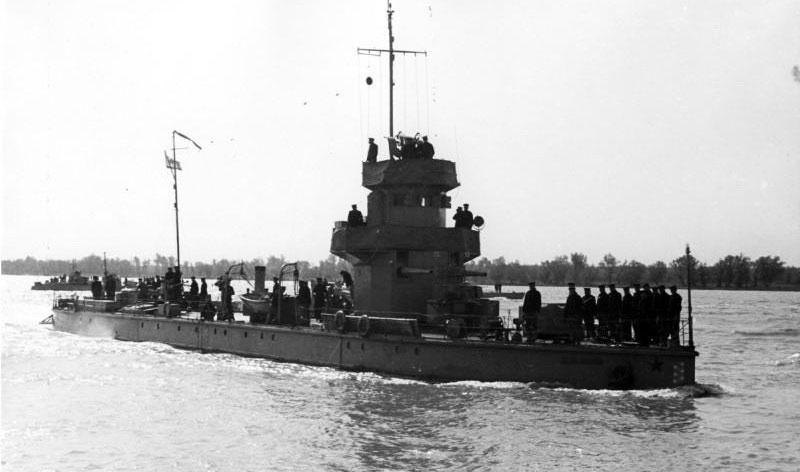 Корабль в 1945 году