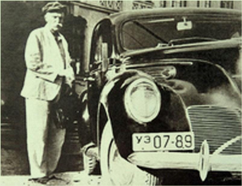 Евгений Патон и его Линкольн Зефир