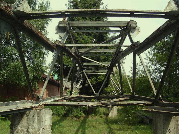 Демонтированный мост