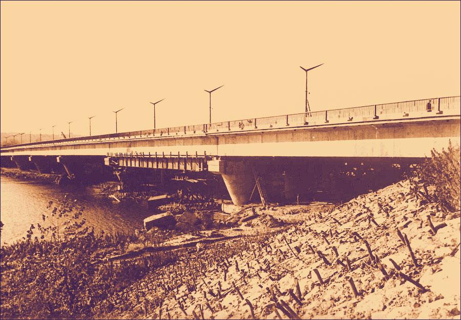Русановский метромост после открытия