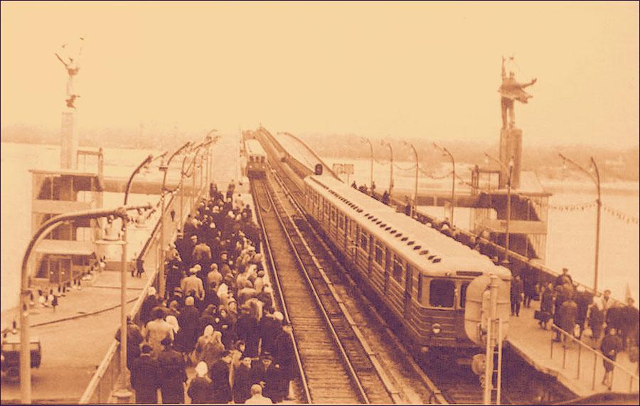 Станция Днепр раньше была весьма загружена