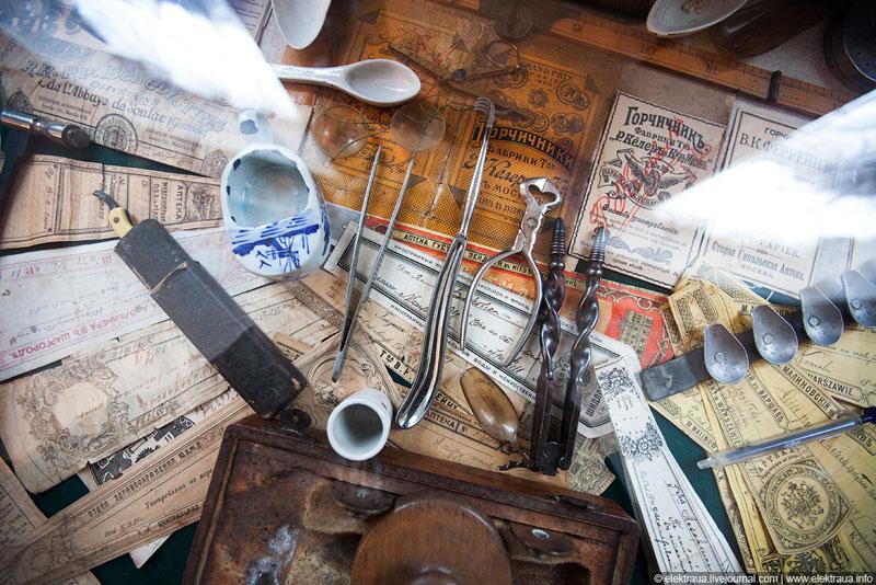 Инструменты лекаря