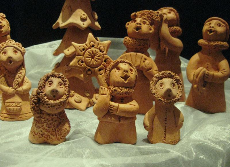 Керамические игрушки