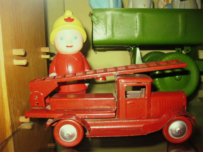Пожарник и его авто