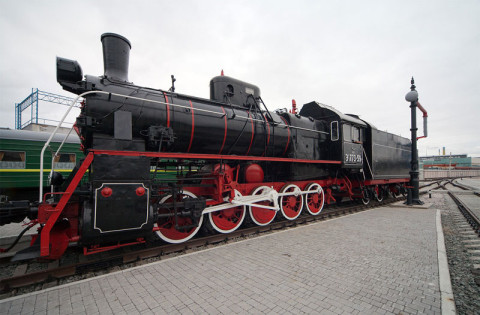Паровоз Эр 773-59