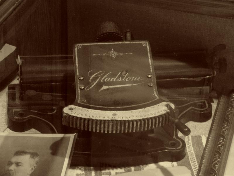 """Пишущая машинка """"Глэдстоун"""""""