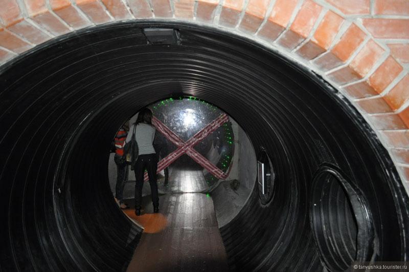 Макет канализации города