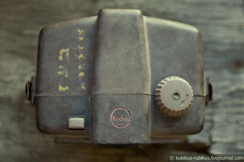 Один из первых фотоаппаратов Кодак