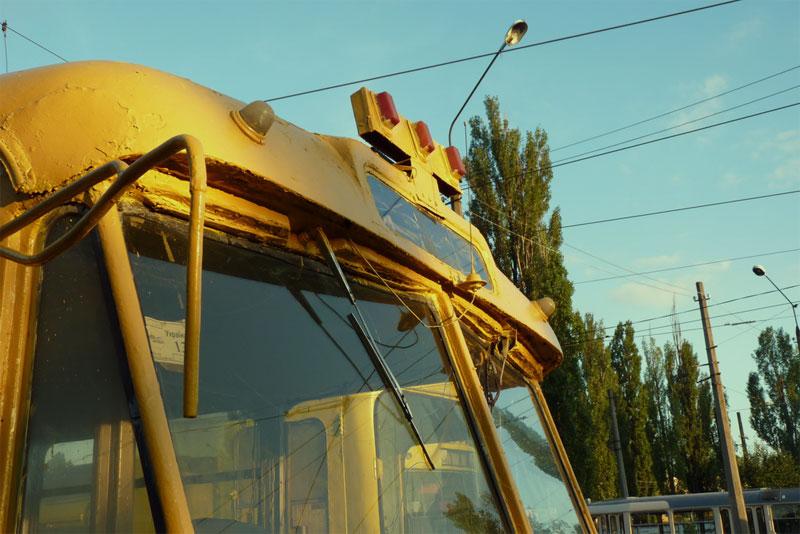"""Троллейбус """"Шкода"""" был техпомощью с 1974 года"""
