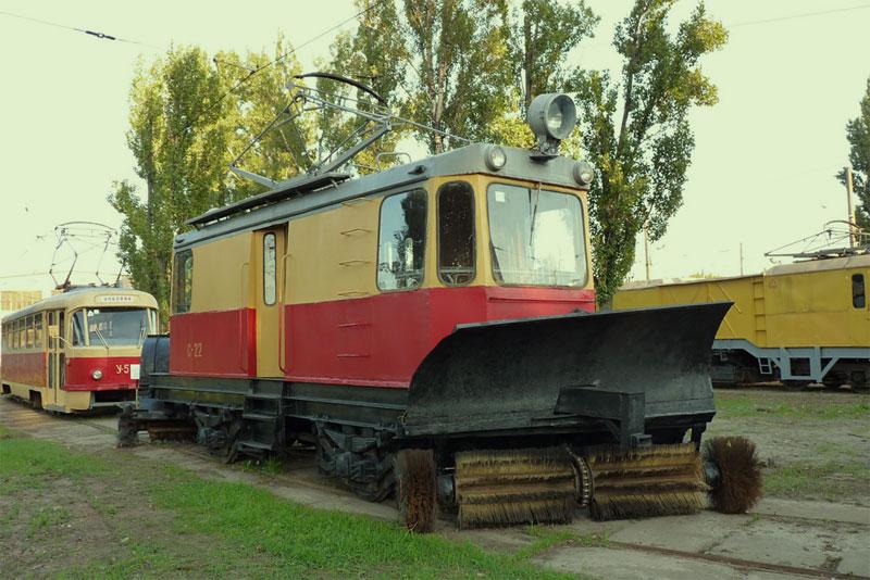 Снегоуборочный трамвай ГС-4
