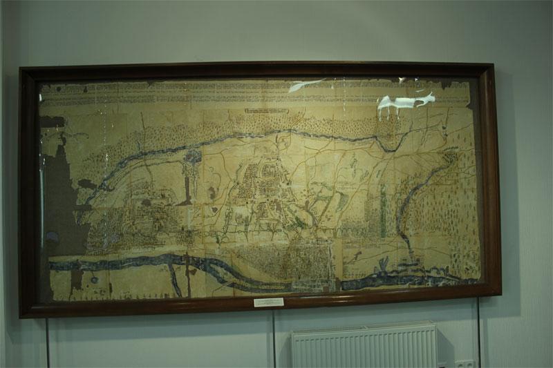 Карта старого Киева