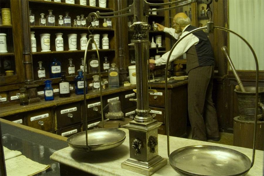 Аптека 19 века
