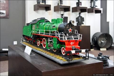 Модель паровоза Су 216-04