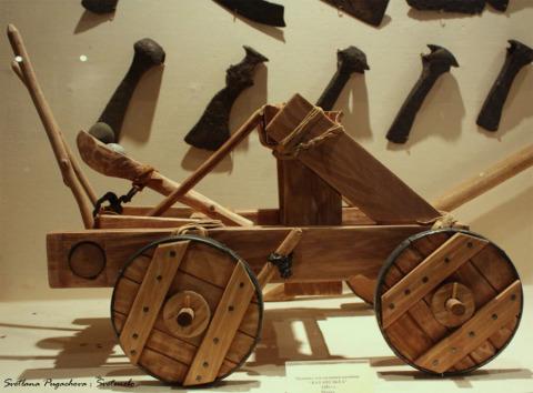 Экспозиция древнего оружия